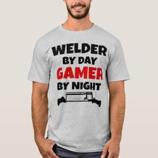 T-shirt Soudeuse par le Gamer de jour par nuit