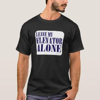 T-shirt Souffle après le slogan d'ascenseur