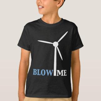 T-shirt soufflez-moi turbine de vent