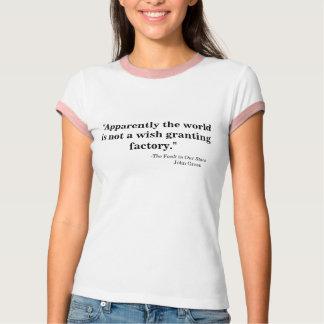 T-shirt Souhait-Octroi de l'usine
