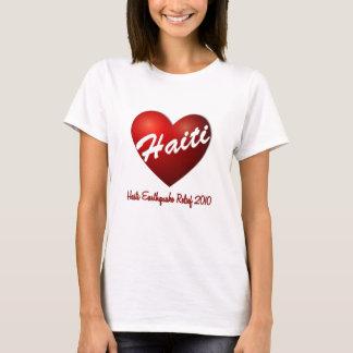 T-shirt Soulagement de tremblement de terre de coeur du