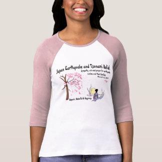 T-shirt Soulagement de tsunami de tremblement de terre du