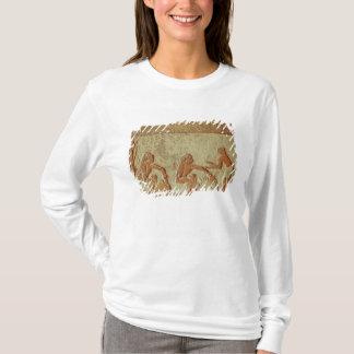 T-shirt Soulagement dépeignant la fabrication et la
