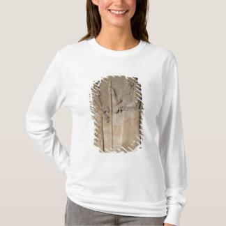 T-shirt Soulagement dépeignant Sargon II et un vizir