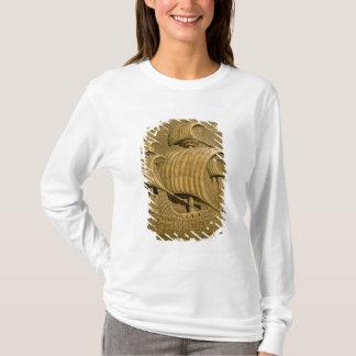 T-shirt Soulagement dépeignant un galion vénitien