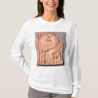 T-shirt Soulagement d'un moine étudiant, de l'hôtel De