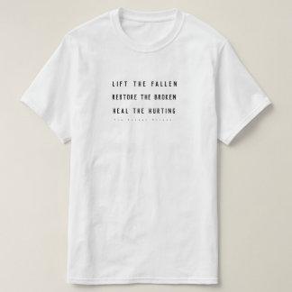 T-shirt Soulevez tombé
