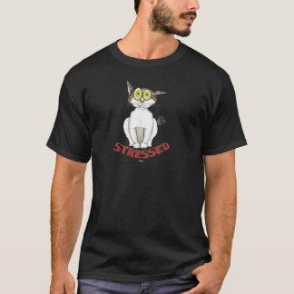 T-shirt Soumis à une contrainte chat Lucy