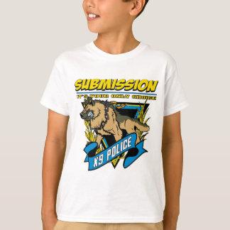T-shirt Soumission de la police K9