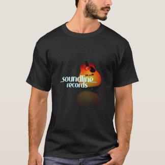 T-shirt SoundLine enregistre la pièce en t de guitare