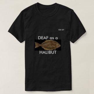 T-shirt SOURD comme FLÉTAN sur le noir