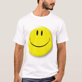 T-shirt souriant de visage