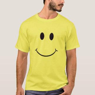 T-shirt souriant de visage - personnaliser -