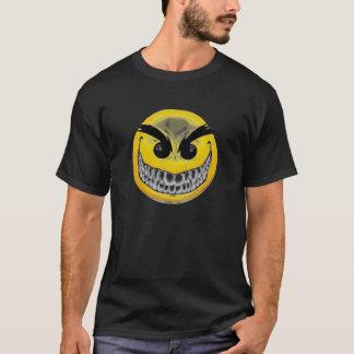 T-shirt souriant mauvais de visage