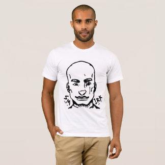 T-shirt Sourire affecté de rue d'agent