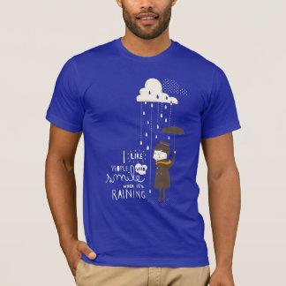 T-shirt sourire quand son pleuvoir