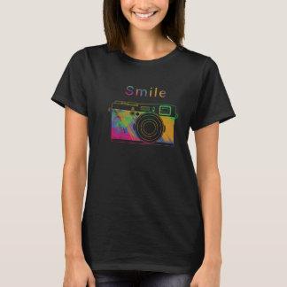 T-shirt Sourire sur l'appareil-photo