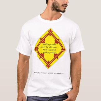 T-shirt Sous le kilt