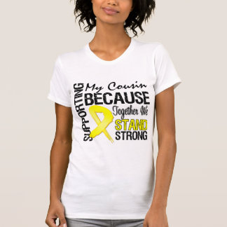 T-shirt Soutenant mon cousin nous nous tenons forts - des