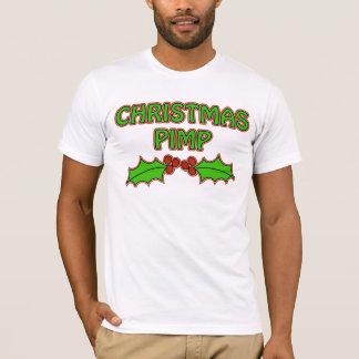 T-shirt Souteneur de Noël - houx