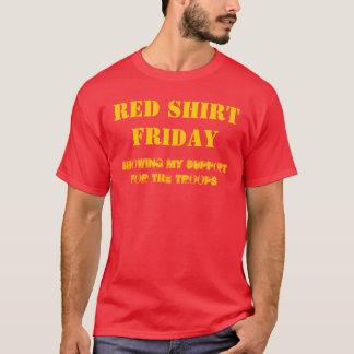 T-shirt Soutenez les troupes