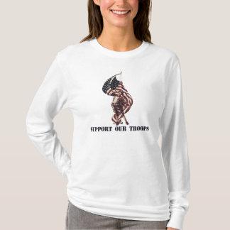 T-shirt Soutenez nos troupes