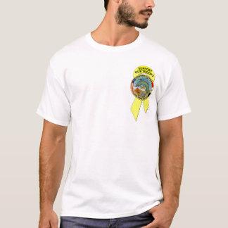 """T-shirt Soutenez nos troupes de """"poisson-chat"""""""