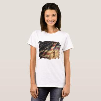 T-shirt Soutenez nos troupes et nos vétérans