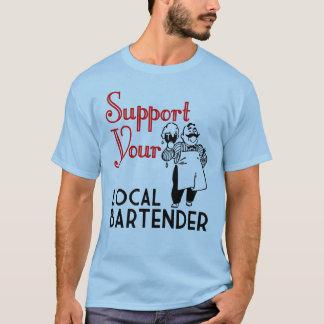 T-shirt Soutenez vos barmans
