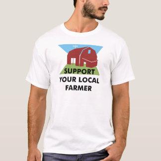 T-shirt Soutenez votre agriculteur local