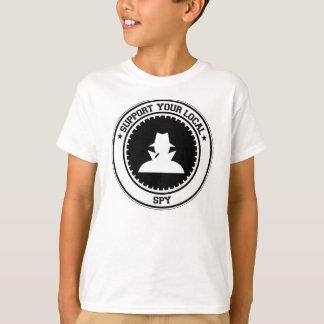 T-shirt Soutenez votre espion local