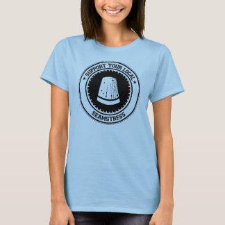 T-shirt Soutenez votre ouvrière couturière locale