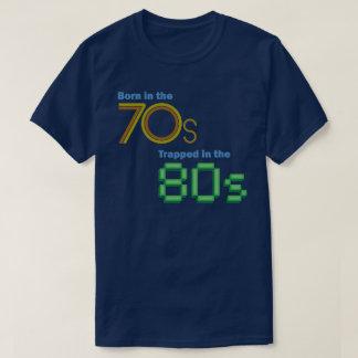 T-shirt Soutenu dans les années 70, emprisonné dans le