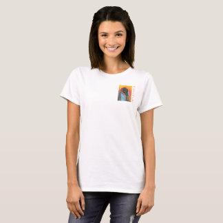 T-shirt Soutenu de la pièce en t des femmes du feu