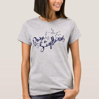 """T-shirt """"Soutenu habillement typographique de zodiaque"""
