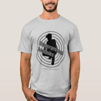 T-shirt souterrain de gris de beatniks