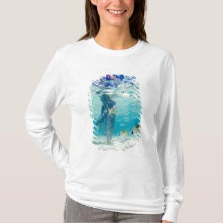 T-shirt South Pacific, Bora Bora, marche de touristes