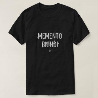 T-shirt Souvenir Biondi (plaisanterie Italien-Latine de