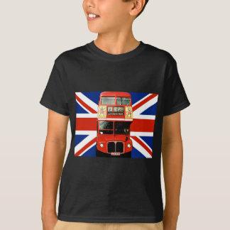 T-shirt Souvenirs et cadeaux de Londres avec l'autobus et