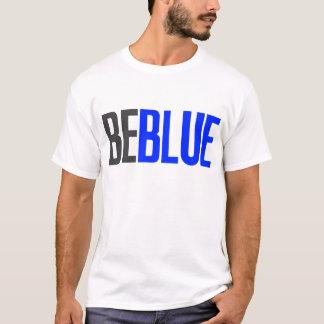 T-shirt Soyez bleu