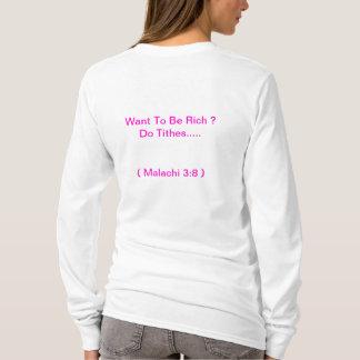 T-shirt soyez des t riches