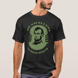 T-shirt Soyez excellente entre eux chemise