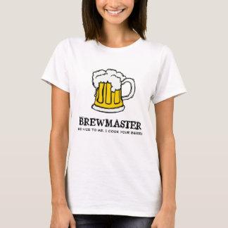 T-shirt Soyez gentil au Brewmaster !