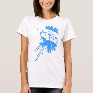 T-shirt Soyez le Babydoll de mouvement