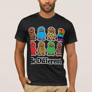 T-shirt soyez les canards mignons de motif drôle différent