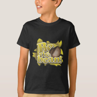 T-shirt Soyez l'haricot (sur la toile de jute)