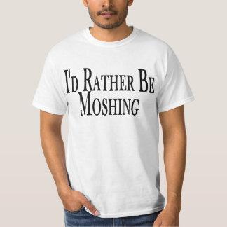 T-shirt Soyez plutôt tee - shirt Moshing