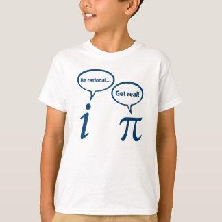 T-shirt Soyez rationnel obtiennent les vraies maths