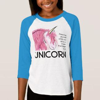 T-shirt Soyez toujours vous-même des filles de 3/4 pièce