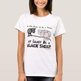 T-shirt Soyez un mouton noir 2